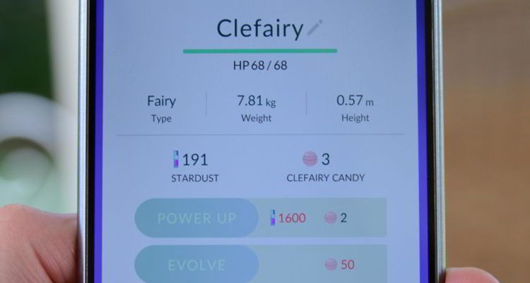Cara Meningkatkan Kekuatan Pokemon di Pokemon Go