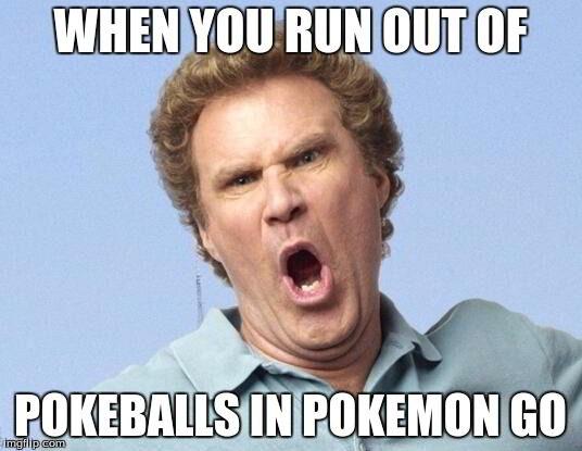 Kehabisan Poke Balls