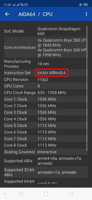Cara Cek Ponsel Android 32 Bit Atau 64 Bit D