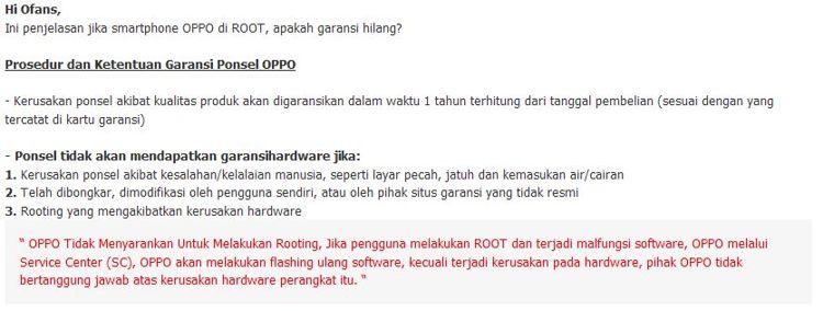 OPPO Rooting dan Unlocking