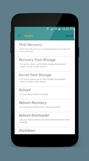 Cara Flashing Custom Recovery Android dengan Rashr