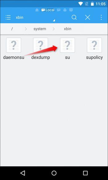 Unroot Android dengan ES File Explorer