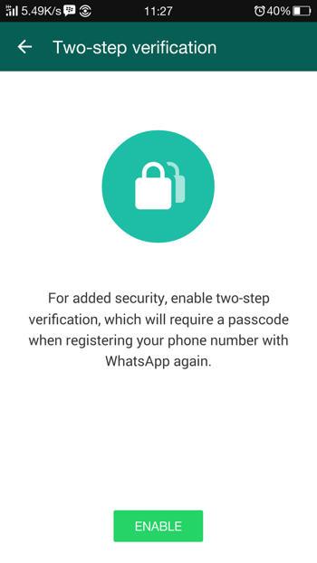 Cara Mengaktifkan Two-Step Verification di WhatsApp Versi Beta