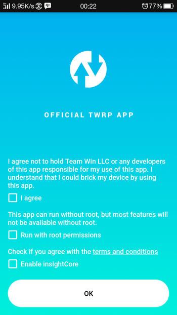 Cara Menggunakan Aplikasi Official TWRP