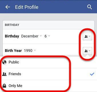 Cara Sembunyikan Tanggal Ulang Tahun di Facebook