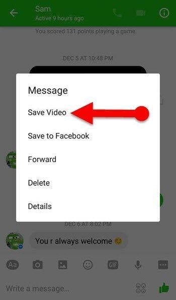 cara simpan video dari facebook ke galeri iphone