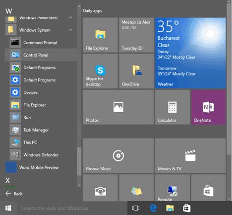 8 Cara Membuka Control Panel di Windows 10