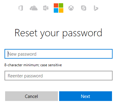 Cara Reset Password Akun Microsoft