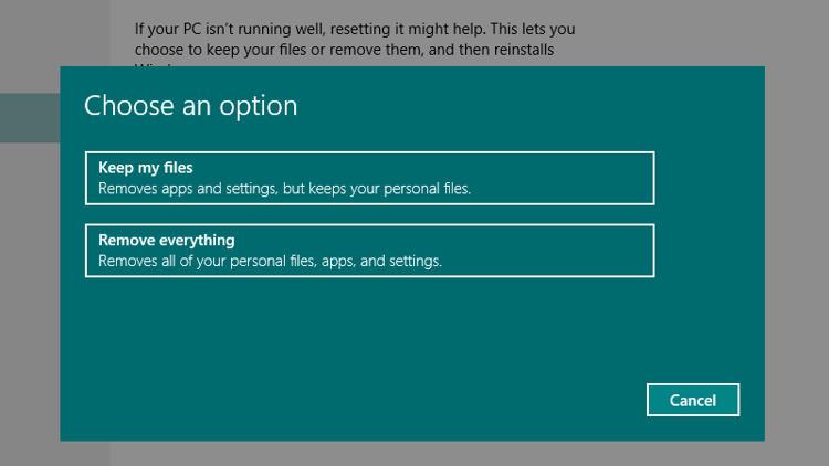 Cara Reset Ulang Windows PC atau Laptop (Windows 10, 8 dan 7)