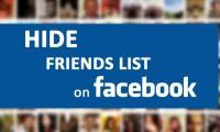 Cara Sembunyikan Daftar Teman atau Friends List di Facebook