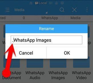 Cara Sembunyikan Foto dan Video WhatsApp dari Galeri