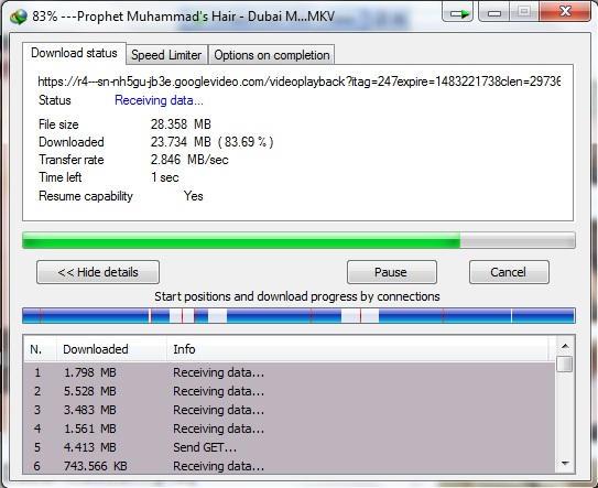 Kecepatan MIFI ANDROMAX 31 Des 1