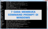 7 Cara Membuka Command Prompt di Windows