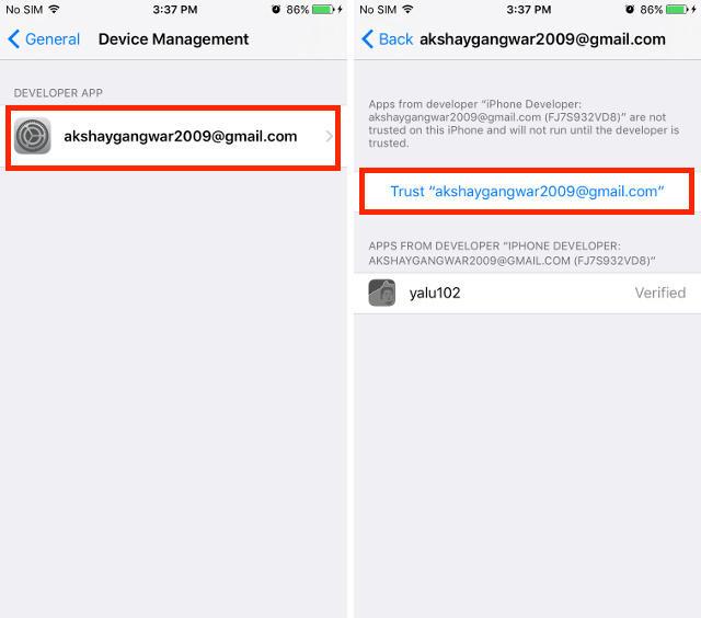 Cara Jailbreak iOS 10.2 dengan Yalu102 dan Cydia Impactor