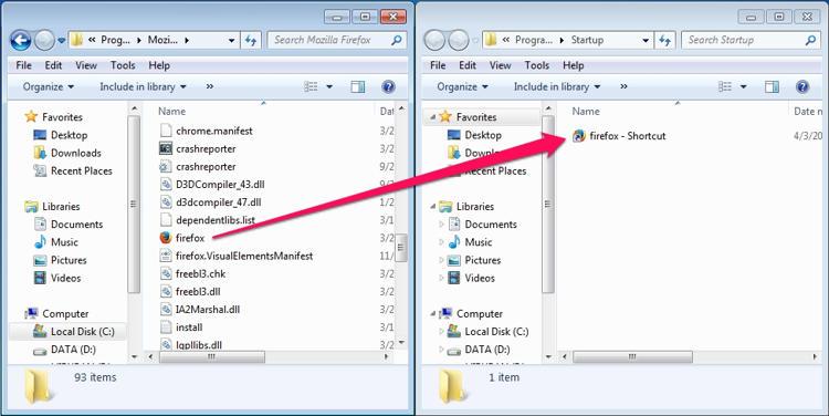 Cara Menambahkan Program, File atau Folder ke System Startup Windows
