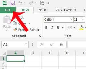 Cara Ubah Font Default di Microsoft Excel 2013