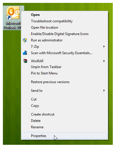 Cara Ubah Ikon Setiap Program di Taskbar Windows 7
