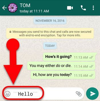 Font Style Di Whatsapp 6