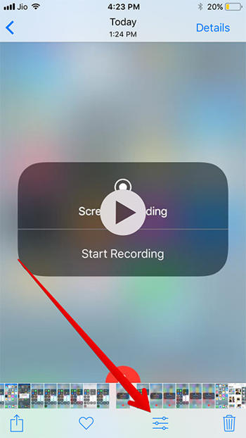Cara Screen Recording Iphone Di Ios 11 L