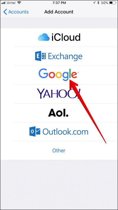 Cara Sinkronisasi Google Contacts Di Iphone Dan Ipad 3