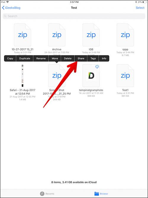 Cara Zip Dan Unzip File Di Iphone Dan Ipad 10