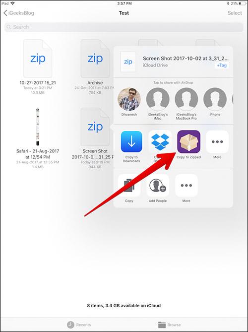 Cara Zip Dan Unzip File Di Iphone Dan Ipad 11