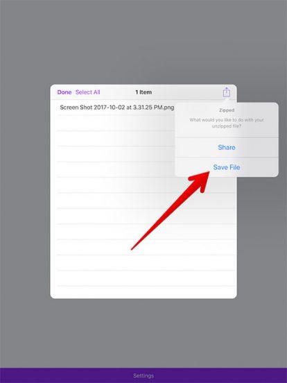 Cara Zip Dan Unzip File Di Iphone Dan Ipad 12