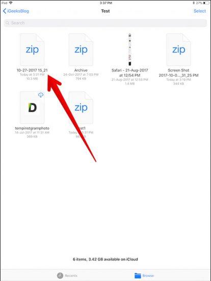 Cara Zip Dan Unzip File Di Iphone Dan Ipad 2