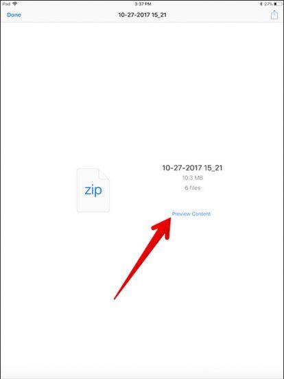 Cara Zip Dan Unzip File Di Iphone Dan Ipad 3