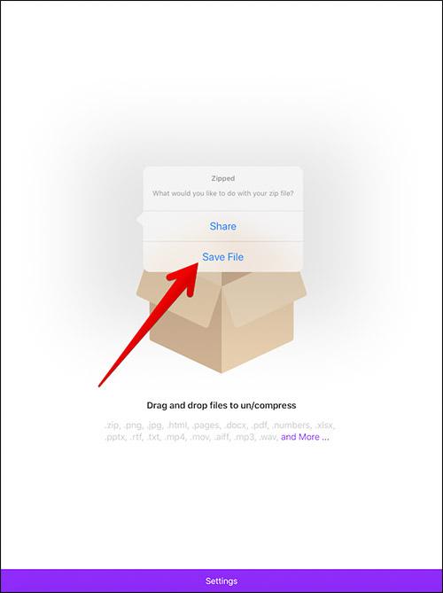 Cara Zip Dan Unzip File Di Iphone Dan Ipad 8