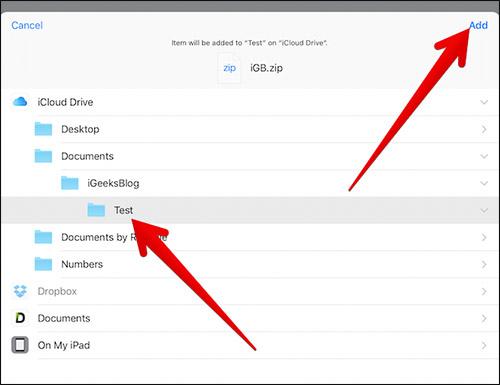 Cara Zip Dan Unzip File Di Iphone Dan Ipad 9