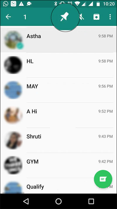 Fungsi Pin Di Whatsapp Dan Cara Menggunakannya 5