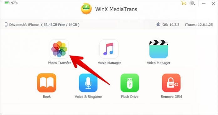 Transfer Dari Iphone Ke Pc Denga Winx Mediatrans 3