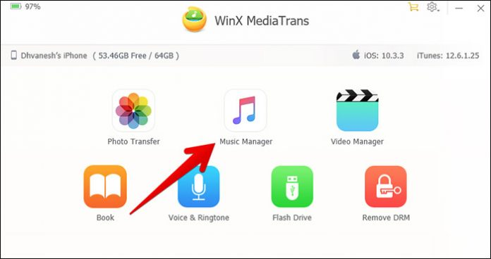 Transfer Dari Iphone Ke Pc Denga Winx Mediatrans 5