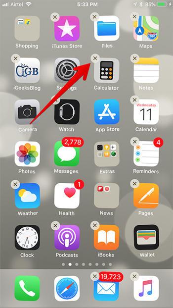 Ios 11 Cara Hapus Aplikasi Bawaan Iphone Dan Ipad 1