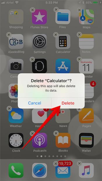 Ios 11 Cara Hapus Aplikasi Bawaan Iphone Dan Ipad 2