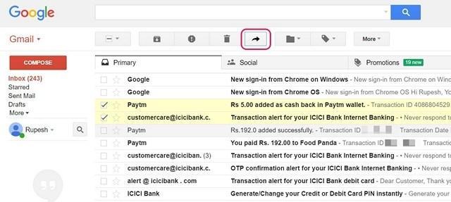 Cara Forward Multiple Email Di Gmail 1
