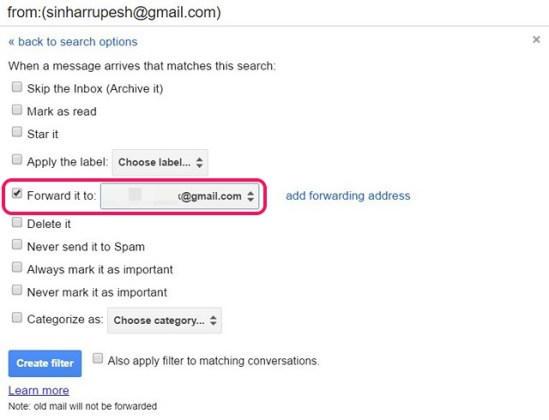Cara Forward Multiple Email Di Gmail 13