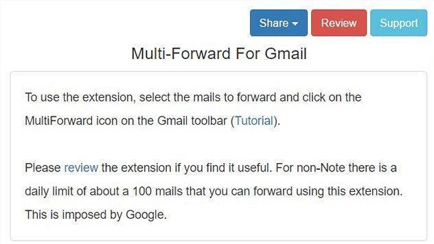 Cara Forward Multiple Email Di Gmail 7