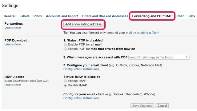 Cara Forward Multiple Email Di Gmail 8