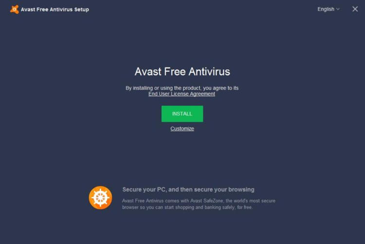 Cara Instal Avas Free Antivirus 2018 Di Pc Dan Laptop Windows 2
