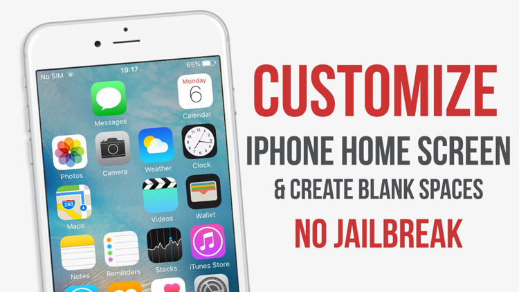 Cara Kustomisasi Home Screen Iphone Tanpa Jailbreak