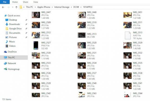 Berbagai Cara Transfer Foto Dari Iphone Ke Pc F