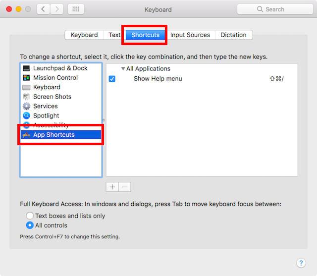 Cara Membuat Custom Keyboard Shortcuts Di Mac B