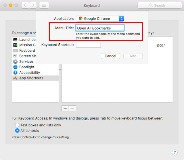 Cara Membuat Custom Keyboard Shortcuts Di Mac D