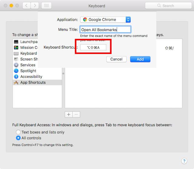 Cara Membuat Custom Keyboard Shortcuts Di Mac E