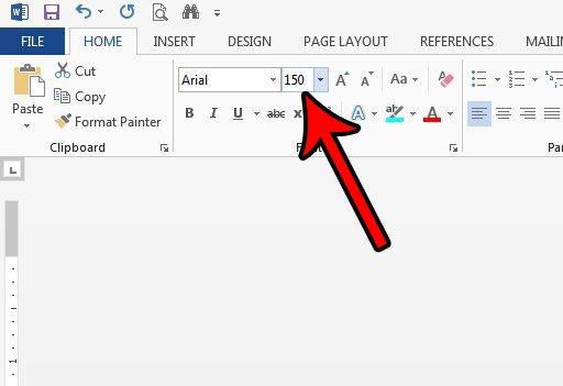 Cara Membuat Ukuran Font Lebih Besar Dari 72 Di Microsoft Word 2013 C