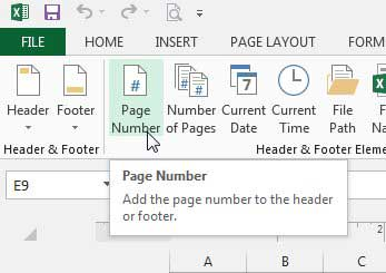 Cara Menambahkan Page Number Di Excel 2013 D