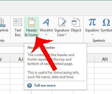 Cara Menghapus Header Di Microsoft Excel 2013 B