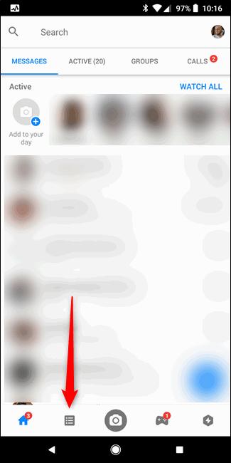 Cara Sembunyikan Status Aktif Facebook Messenger A